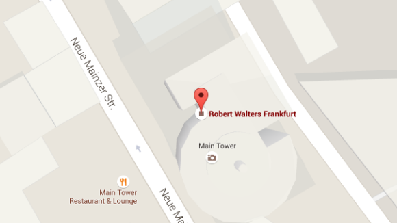 Robert Walters Frankfurt Office